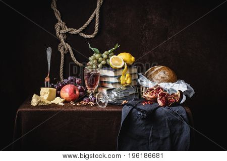 A Classic Still-life In The Dutch Style