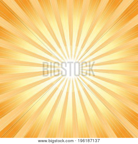 Vector color bright background with glowing rays