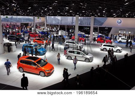 Volkswagen Car Visitors Frankfurt Motor Show