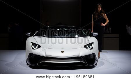 Lamborghini Aventador Lp 750-4 Superveloce Sports Car