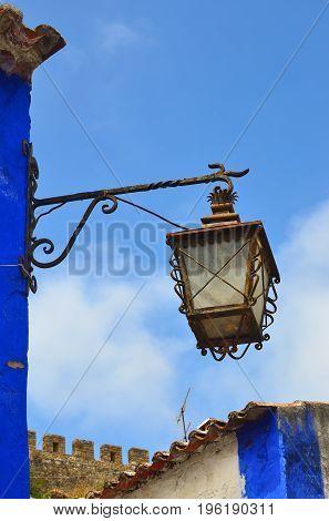 Streetlight In Portugal