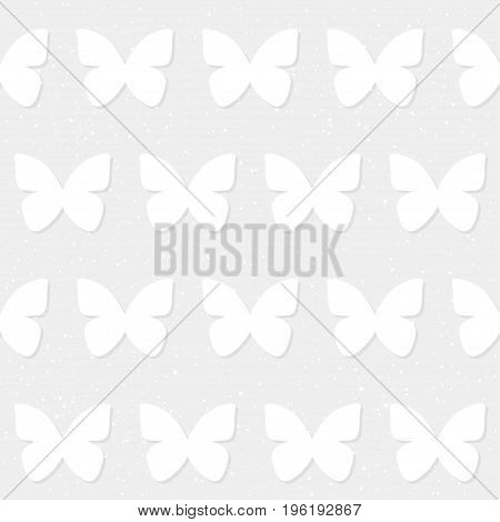 Butterfly Seamless Pattern Background.