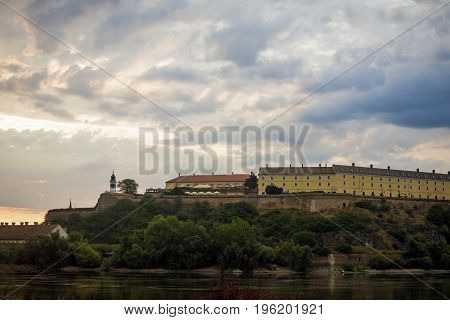 Travel destination Petrovaradin fortress is in Serbia