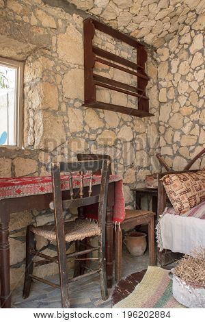 Interior Of The Old House