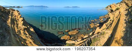 Morning Sea Coast, Albania.