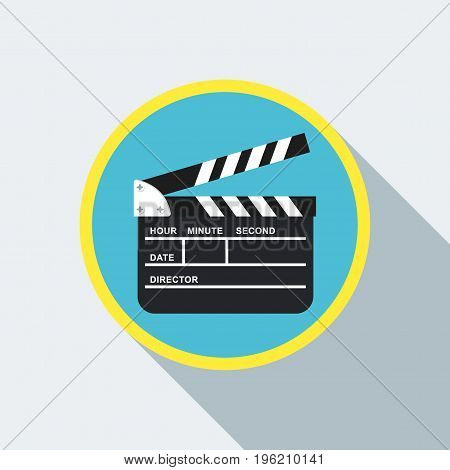 Clapperboard Color Icon