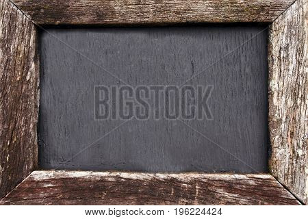 Empty Chalkboard Ready For Copy Text