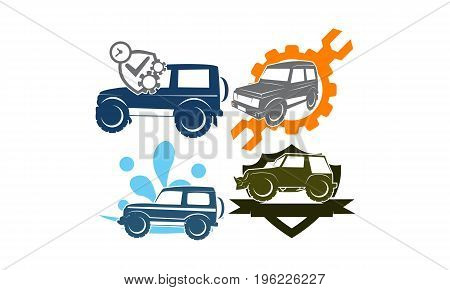 Jeep Car Service Wash Shield Ribbon Gear Screwdrive Collection4