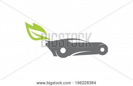 This image describe about Car Green Energy Logo