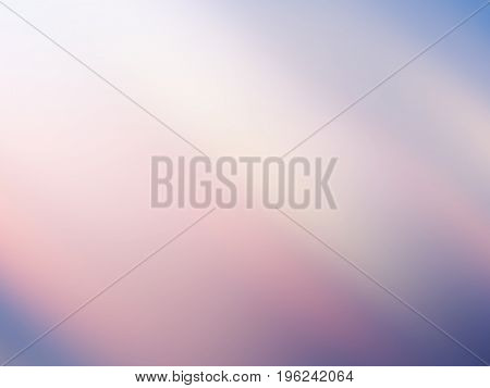 Abstract blurred background. Colorful texture gentle design of pale blue, pink, violet, white gradient light rays. Nice elegant dreamy image for wallpapers