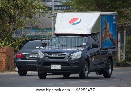 Truck Of Sermsuk Company. Est Cola Product.