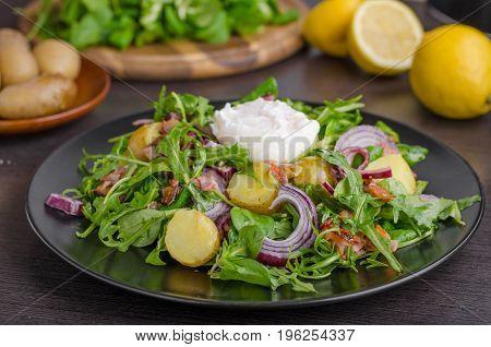 Potato Lettuce Salad