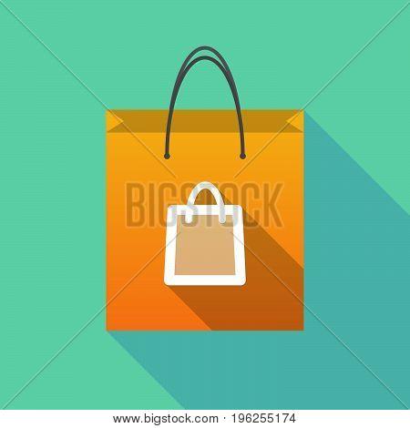 Long Shadow Shopping Bag With A Shopping Bag