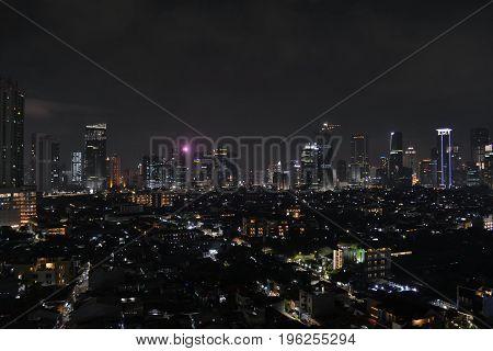 The Skyline Of Jakarta