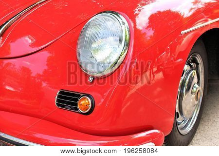 An image of Porsche 356 Speedster - Bad Pyrmont/Germany - 07/08/2017