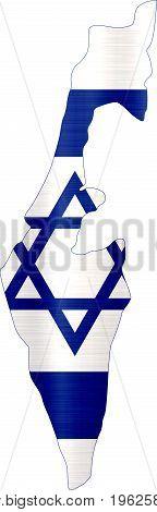 flag map israel illustration country  nation  design