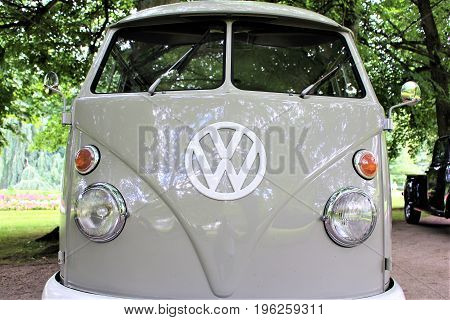 An Image of a Volkswagen van T1 - Bad Pyrmont/Germany - 07(08/2017