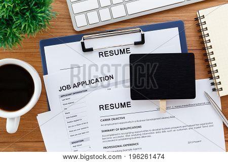 Job And Recruitment Concept