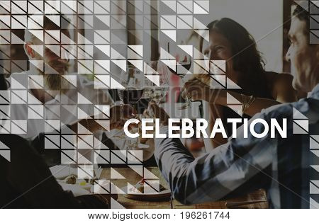 Achievement Success Happy Celebration Graphic
