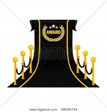 Award Big Black Carpet