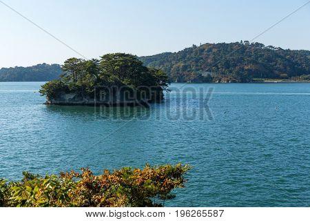 Beautiful Matsushima in Japan