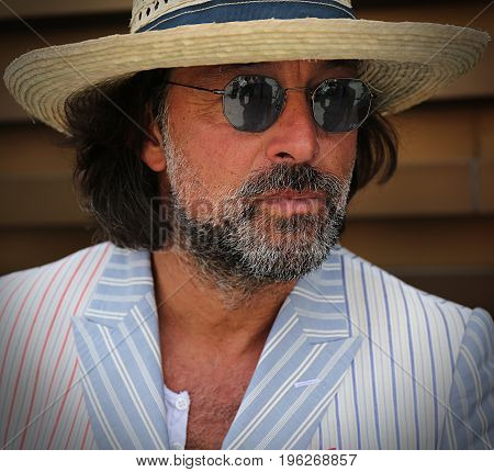 FLORENCE- 14 June 2017 Giovanni Cherbassi on the street during the Pitti