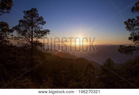 Late Afternoon Light Over Teide