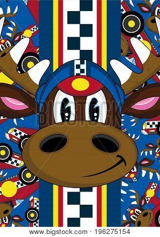 Reindeer Racing Driver 5