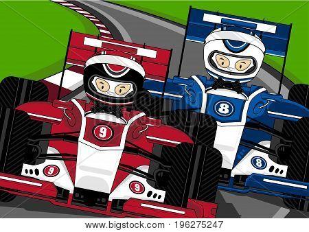 F1 Cars Racing