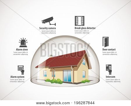 Glass Dome - House Protection 3.eps