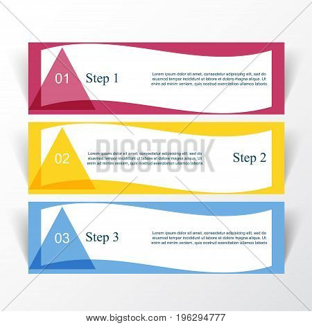 Vector Lines Arrows Infographic.