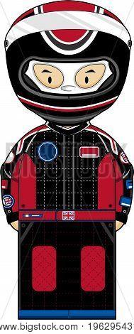 Cute F1 Racing Driver