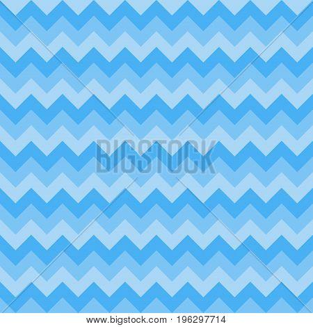 Seamless chevron pattern three colors blue color. Vector illustration