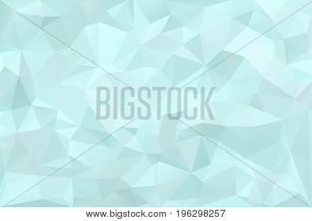 Abstract polygonal background. Contemporary graphic design element. Decorative crumpled paper. Business card backdrop, brochure cover, wall paper. Monochrome geometric decoration. Vector illustration