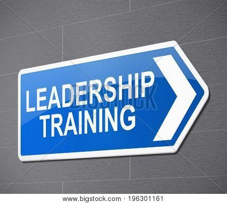 Leadership Training Concept.