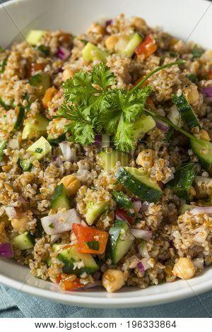 Homemade Bulgar Wheat Salad