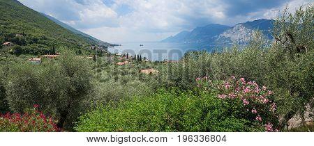 Val Die Sogno Cove, Malcesine, Italy