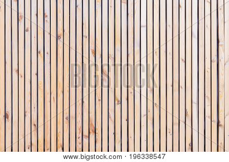 Rustic natural wooden vertical planks with cracks, scratches for natural design, patterns, extured background with space for copy text.