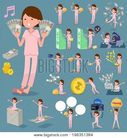 Flat Type Patient Woman_money