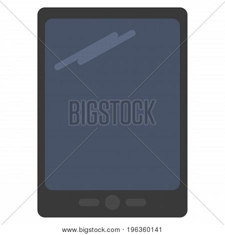 Modern e-book vector illustration. Flat style design. Colorful graphics