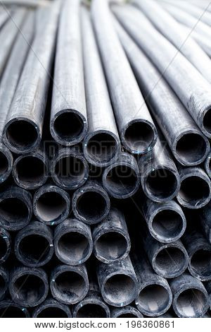 Black Rubber Tube Pvc Flex Pipe Or Industrial Hose For Carry Water Oil Fuel Air Transfer.
