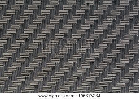Close up carbon kevlar fiber material background pattern