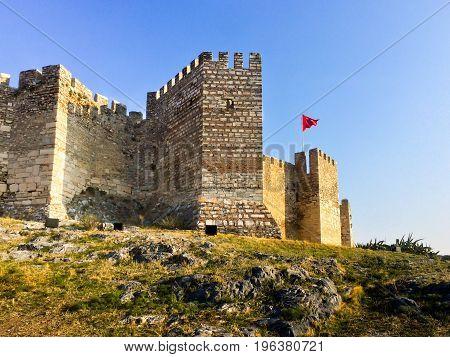 Gate Of Ayasoluk Castle In Selcuk Near Ephesus In Turkey