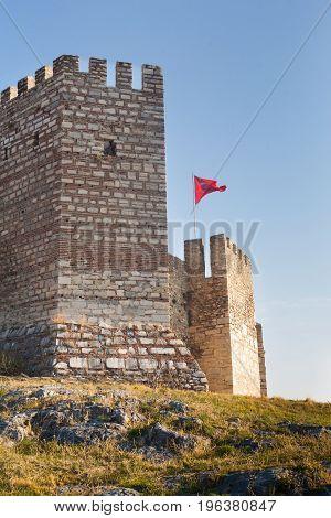 Ayasoluk Castle in Selcuk near Ephesus in turkey