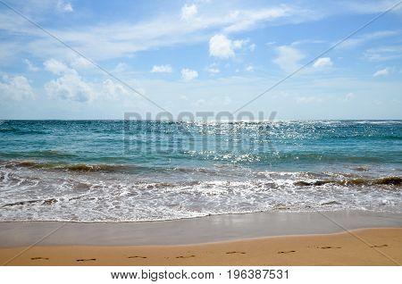 Romantic Beach In Tangalle . Sri Lanka