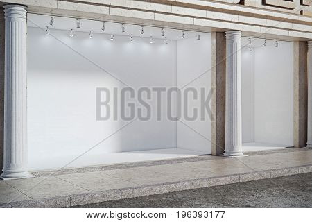 Empty Storefront Side