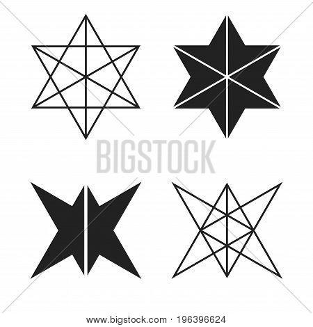 Vector Illustration Hexagons. Stock Vector