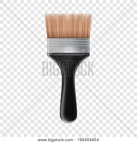 Big brush icon. Realistic illustration of big brush vector icon for web