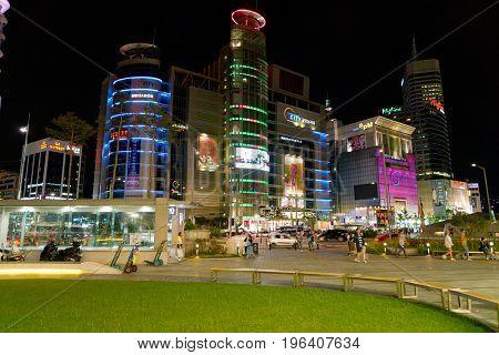 SEOUL, SOUTH KOREA - CIRCA JUNE, 2017: Seoul urban landscape. Seoul Special City is the capital and largest metropolis of the Republic of Korea.