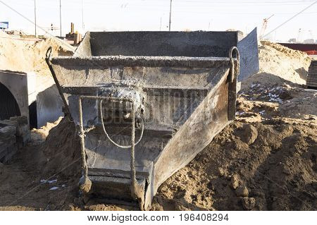 pictured capacity for uniform pouring concrete solution
